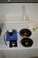 Plastic Hamper with Assorted Items