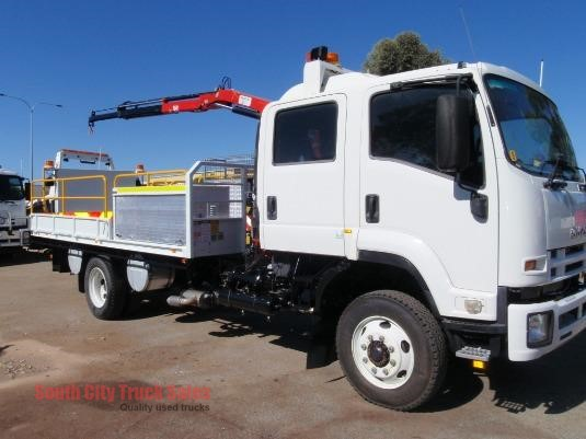 2013 Isuzu FSS 500 4x4 Crew South City Truck Sales - Trucks for Sale