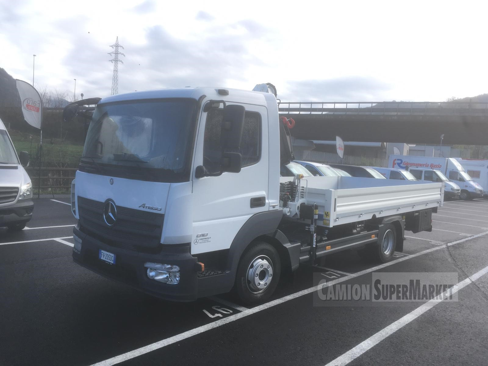 Mercedes-Benz ATEGO 818 #Used