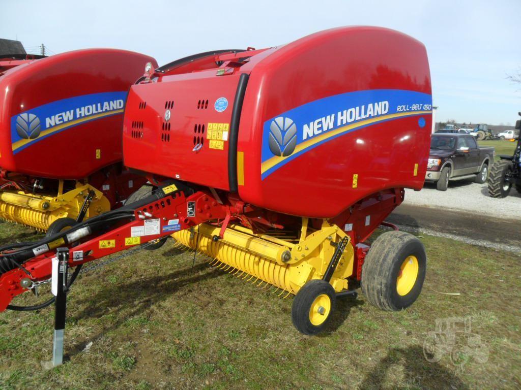 www vauseequipment com | For Sale 2019 NEW HOLLAND ROLL-BELT 450