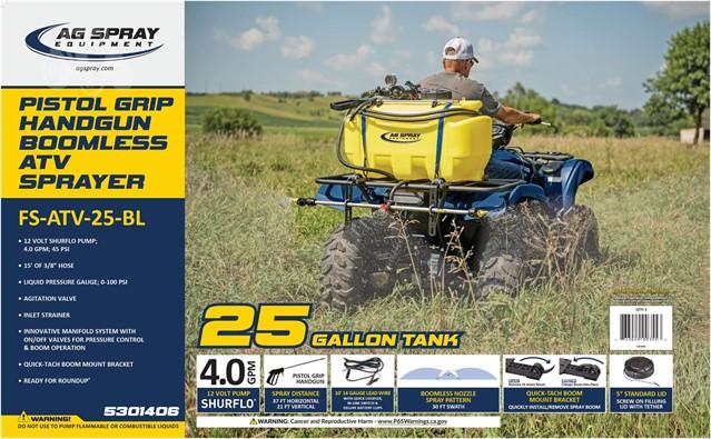 2019 AG SPRAY EQUIPMENT FS-ATV-2 5BL-4 0 For Sale In Guthrie