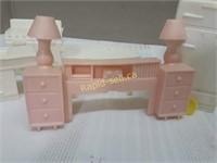 Vintage Dollhouse Furniture & Accessories