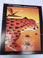 Vintage Chevorlet Advertising Campaign Puzzles