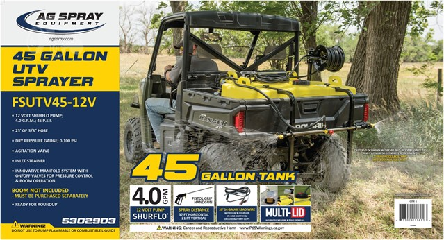 2019 AG SPRAY EQUIPMENT FSUTV45-12V For Sale In Guthrie, Oklahoma