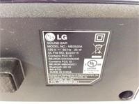 LG Bluetooth Sound Bar
