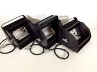 3 L&E 1000W Cycloramic Lights