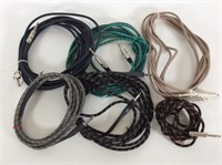 Lot of 4 NL4 Speakon Cables
