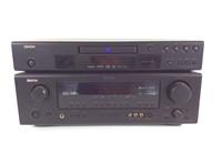 2 pc Denon Entertainment / DVD System