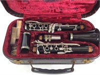 Goldtone #3 Claranet with Case