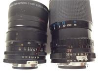 2 Camera Lenses, Neewer and Kiron