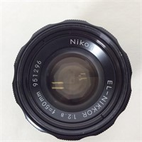 2 Camera Lenses, Nikon and Solinger