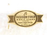 Humes & Berg Fashion Fold Music Stand #1