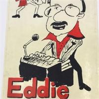Eddie Vallus Combo Band Sign