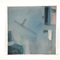 Modern Oil Painting on Canvas by R. Leepard #1