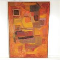 Modern Oil Painting on Canvas by R. Leepard #2