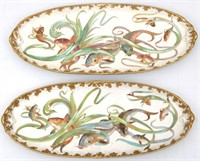 Limoges 14 Piece Porcelain Fish Set
