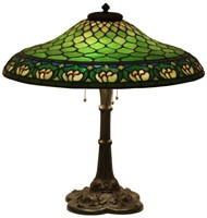 J.A. Whaley Co. 22 Inch Water Lily Table Lamp