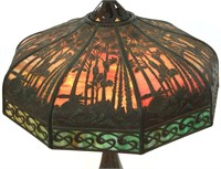 Handel Sunset Palm 20 Inch Table Lamp