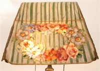 Pairpoint Puffy Reverse Painted Table Lamp