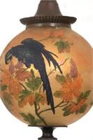 Handel Parrots Globe Pendant Hall Lamp