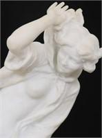 Vittorio Caradossi Carved Marble Sculpture