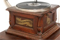 "Columbia BI ""Sterling"" Disc Graphophone with Base"