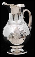 Gorham Coin Silver Water Pitcher