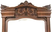 3 Piece Karges Carved Oak Bedroom Set