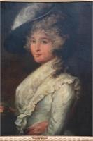 Attr. Gainsborough Dupont O/C Portrait