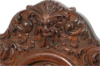 8 Carved Oak Dining Chairs