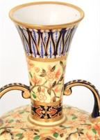 Pair of Royal Crown Derby Porcelain Vases