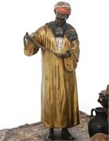 Anton Chotka Cold Painted Bronze Jewelry Merchant