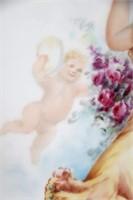 Limoges Hand Painted Porcelain Plaque
