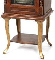 """Oak Regina Style 38 """"Flat"""" Upright Music Box"""