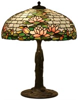 Duffner & Kimberly 20 Inch Water Lily Table Lamp