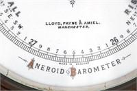 2 Carved Oak Wall Barometers