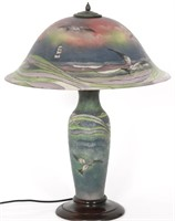 Pairpoint 20 Inch Seagull Table Lamp