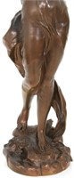 J.B. Germain Bronze Sculpture of a Woman