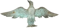Architectural Wall Hanging Bronze Eagle