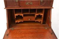 American Oak Cowboy Desk