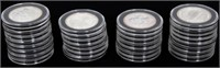 Lot of 31 .999 Silver Casino Gaming Tokens
