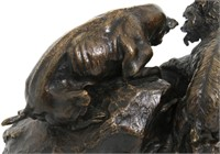 P.J. Mene (French, 1810-1879), Bronze Sculpture