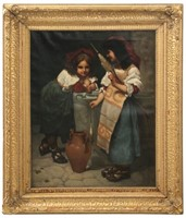 20th Century Oil on Canvas Painting