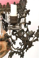 Dutch Hanging Library Pulldown Lamp