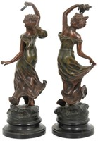 Pair of Sculptures after Charles Ruchot