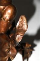 Bronze Comical Erotica Sculpture