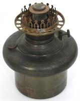 Weller Pottery Oil Font Lamp
