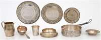 Tiffany & Co. Makers 9 Pieces Sterling Silver