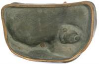 Peter Tereszczuk Bronze Figural Inkwell