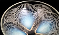 "R. Lalique ""Coquilles"" Bowl & Plate"